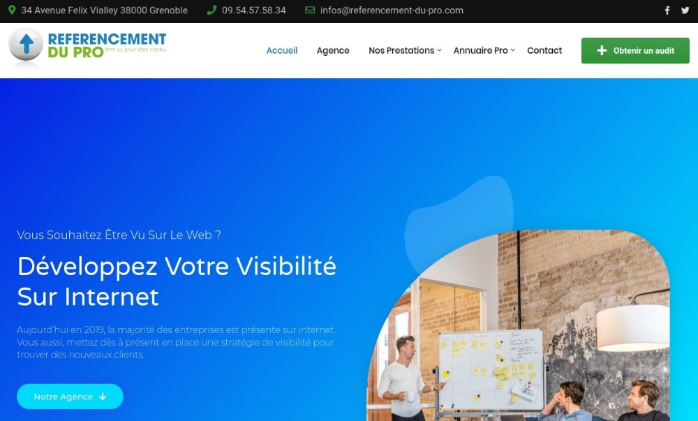 agence de referencement